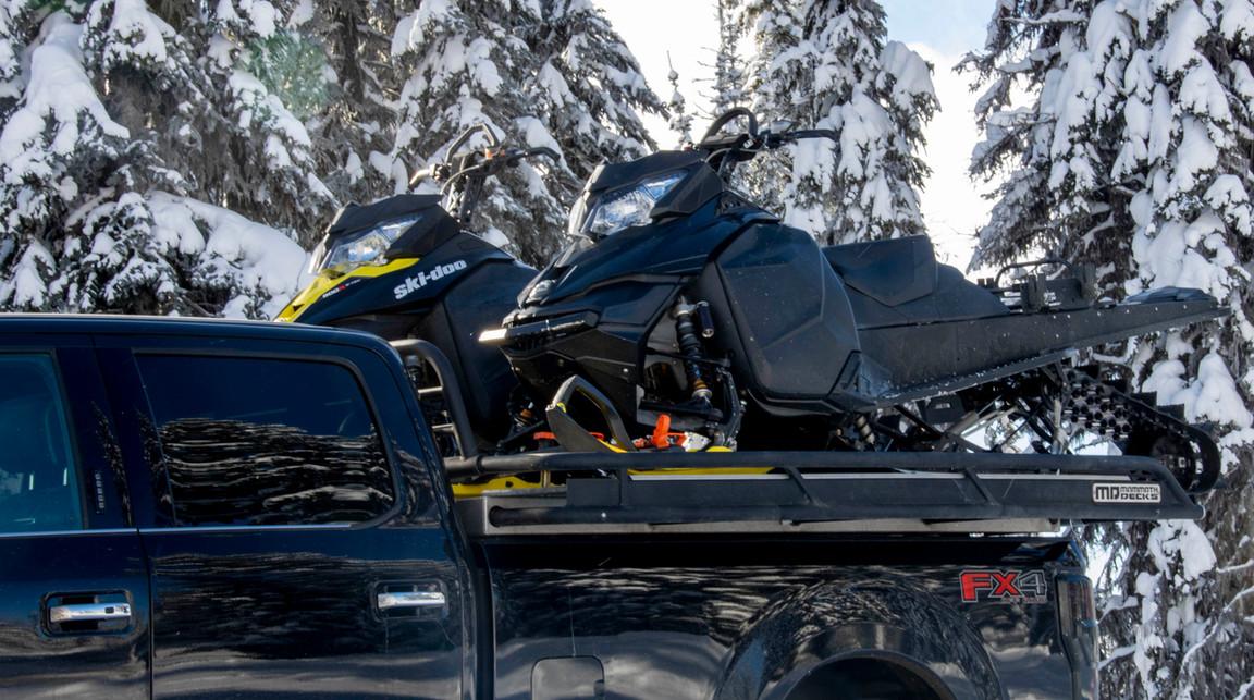 Best Snowmobile Deck