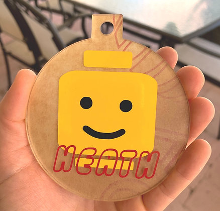 LEGO Head Christmas Decoration