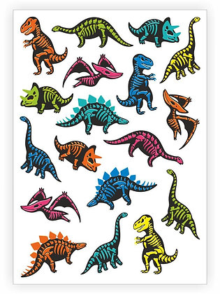 Dinosaurs sheet