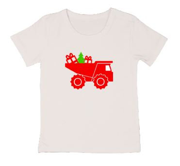 Christmas Dump Truck