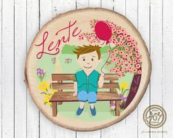 Illustratie 'Lente'