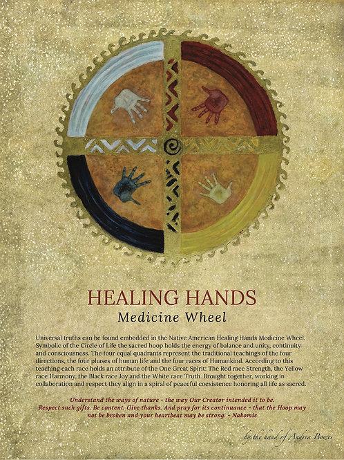 Traditional Native American Medicine Wheel