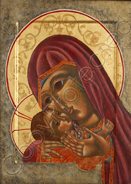 Theotokos and Christ Child CP