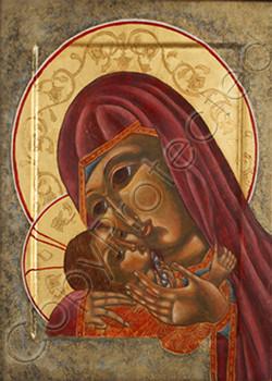 Theotokos and Christ Child CP