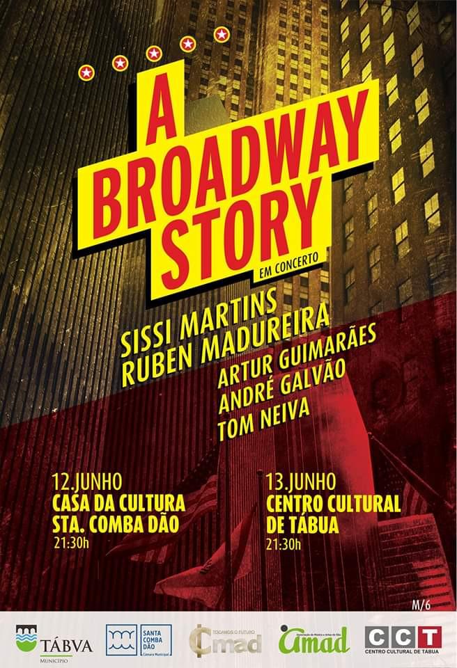 A BROADWAY STORY em Concerto - bilhetes à venda