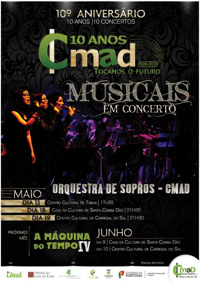 """Orquestra de Sopros do CMAD  """"Musicais em concerto"""""""
