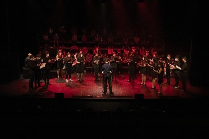 Alunos celebram partilha musical no primeiro espetáculo do XIII Festival de Música e Artes do Dão