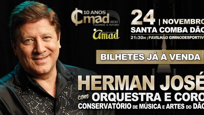 Herman José no concerto de encerramento dos 10 Anos do CMAD