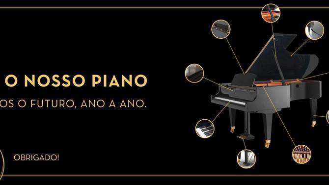 CAMPANHA PARA ANGARIAÇÃO DE PIANO DE CONCERTO