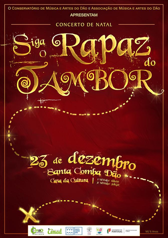 """Espetáculo de Natal do CMAD """"Siga o Rapaz do Tambor"""""""