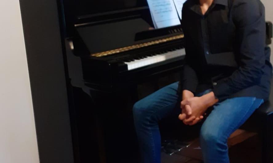 Aluno do CMAD alcança 2º prémio no Concurso  de Piano de Oeiras