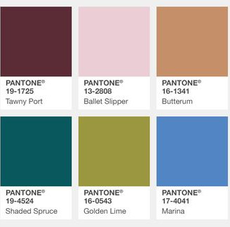 a very pantone thanksgiving