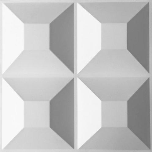 NUEVO! S-010 PANEL DECORATIVO 3D/10 PIEZA/2.5M2+PEGAMENTO