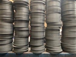 Friction discs machined by MBL