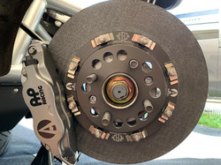 Ariel Atom carbon ceramic brake disc