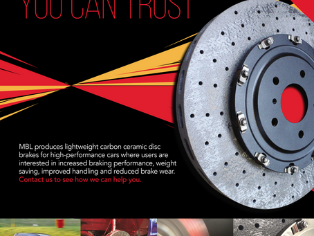 Check out our brake disc  magazine advert