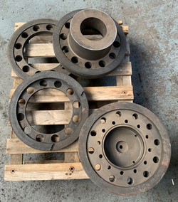 Forging press brake and clutch plates