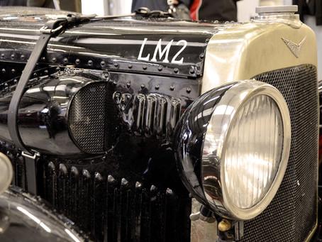 1920's Le Mans Aston Martin LM2