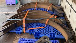 Large brake bands