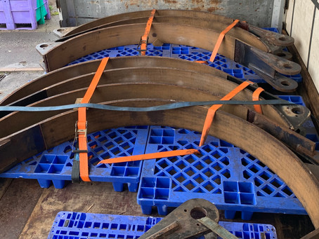 Large Winch Bands Relined By MBL