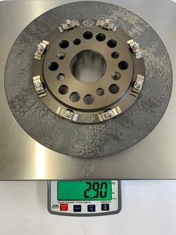 288 x 25mm Carbon Disc