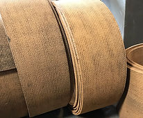 Friction material brake linings