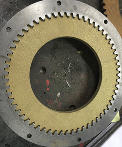 Gear cut disc