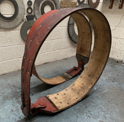 Drop forge brake band