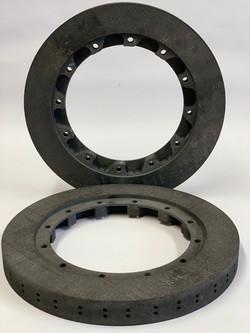 340 x 25mm carbon ceramic discs