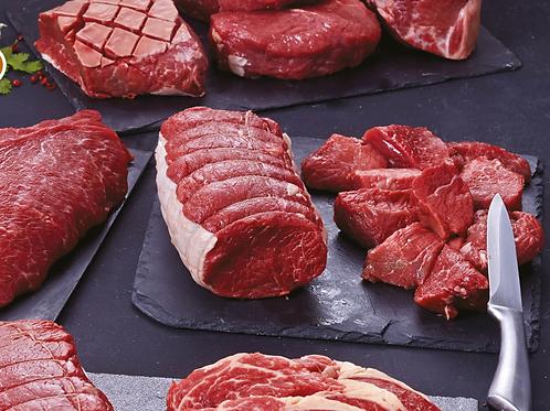 Colis découverte de vache Salers 10kg 15€/kg