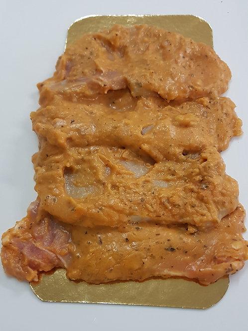 Filet de porc marinée