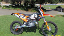 2017 KTM 250XC-W Part Two of the new project