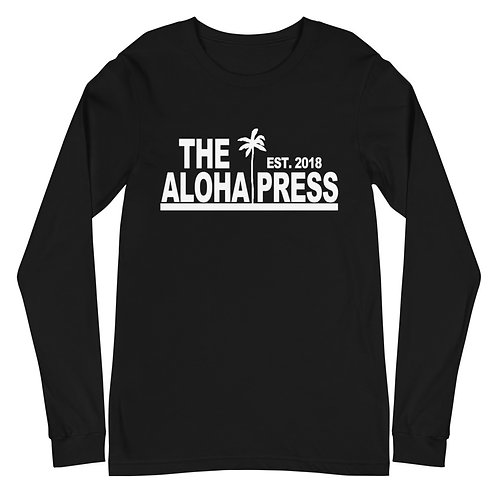 The Aloha Press Unisex Long Sleeve Tee