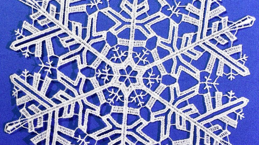 Schneestern / snowstar