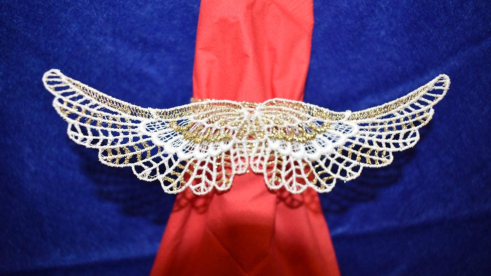 Engelsfligel /serviette ring angel's wing
