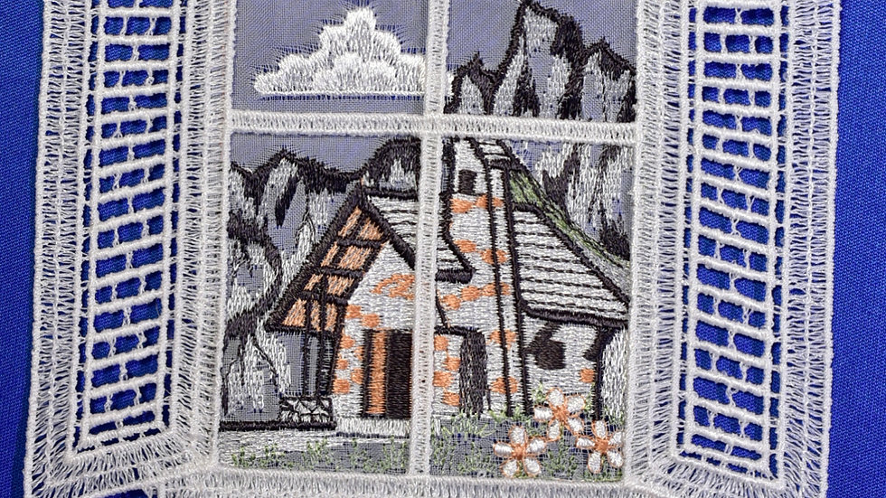 Fensterbilder - Bergkapelle /mountain chapel