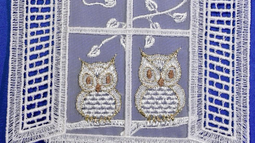 Fensterbilder - Schnee-Eulen / snowy owls