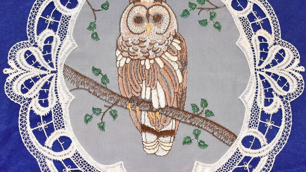 Fensterbild window picture / Owl