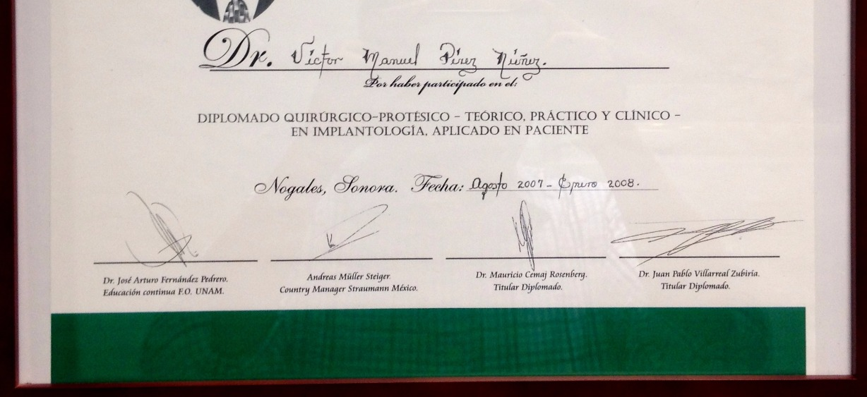 Diploma signatures