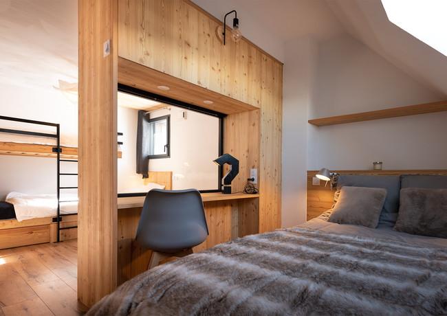 Aménagement appartement pied de piste Pyrénées