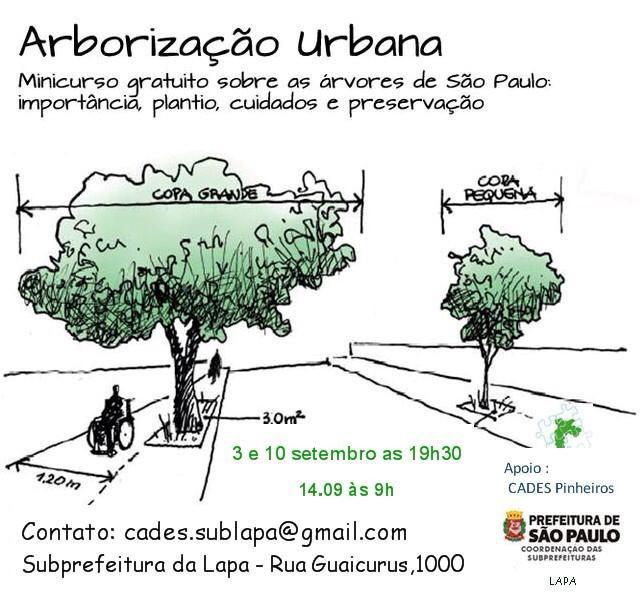 Curso de Arborização Urbana