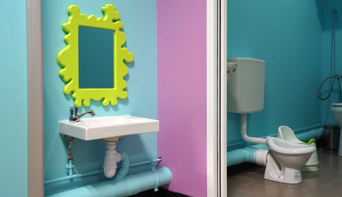 Toilettes enfants