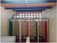 Neue Toilettenanlage am Skills Center dank dem Rotary Club