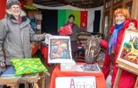 Afrikanischer Advent in der Garage