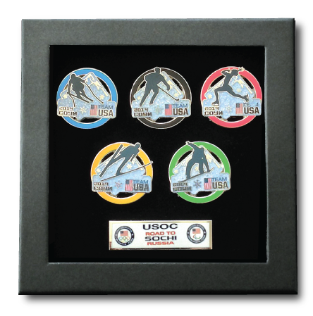 Highly collectable pin sets