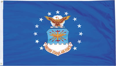 4'x6' U.S Air Force nylon flag