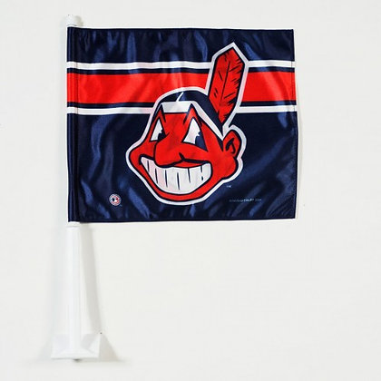 "Cleveland Indians Car flag 11.75""x14"""