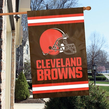 Cleveland Browns Applique double sided banner
