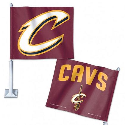 """Cleveland Cavaliers Car flag 11.75""""x14"""""""