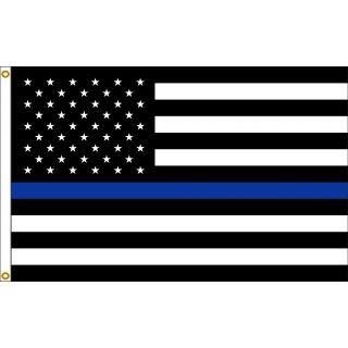 U.S. Thin Blue Line 3'x5'